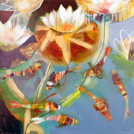 Becky Blair Copper Lillies