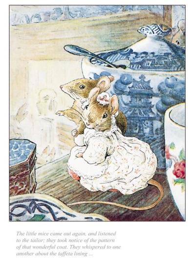 Beatrix Potter art illustrations