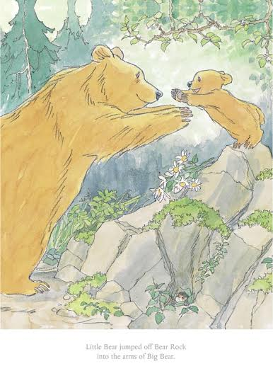 Barbara Firth- Little Bear Jumped off Bear Rock